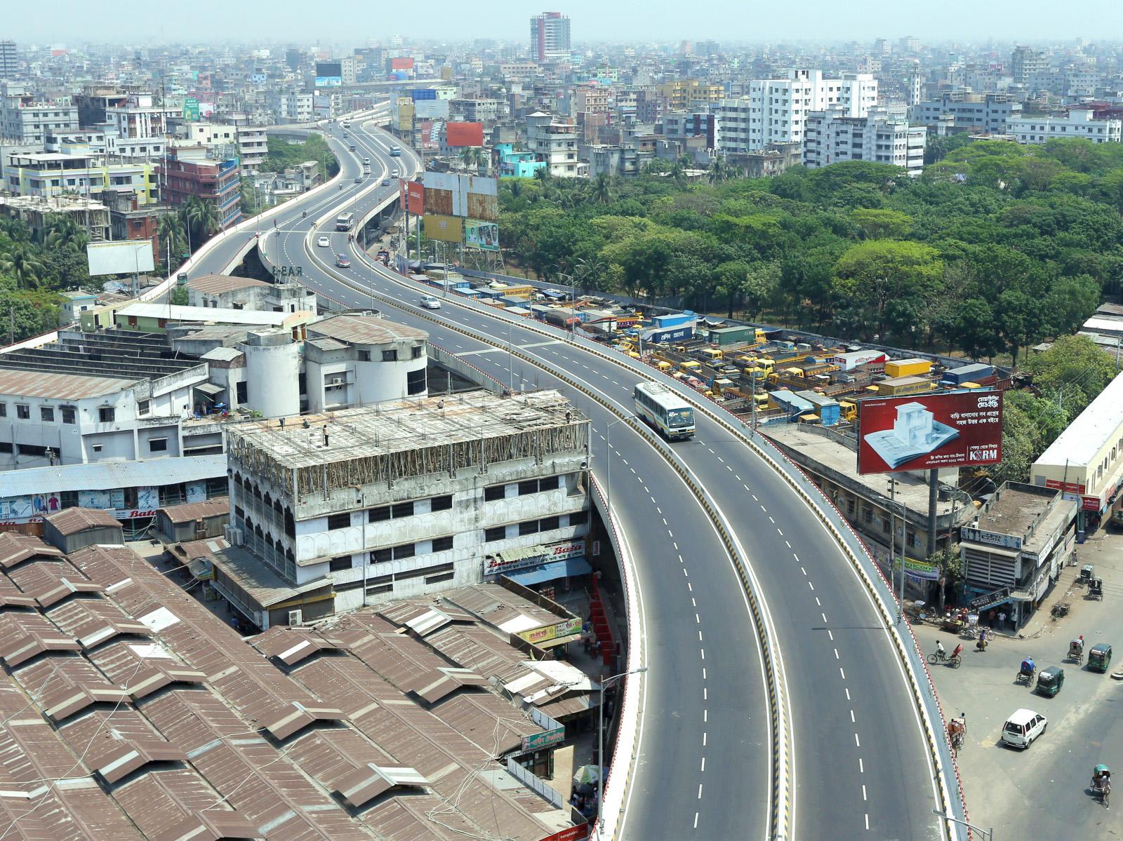 Dhaka Flyover Pictures Flyover Dhaka